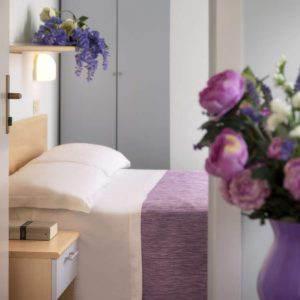 In camera, comfort, servizi<br>e 100% relax